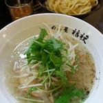 めん屋 桔梗 - 塩つけ麺(普通盛)※もやし変更2018.9.22