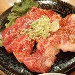 お肉屋さんの焼肉 まるやす - きれいなお肉♪