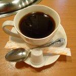 お肉屋さんの焼肉 まるやす - セットのコーヒー