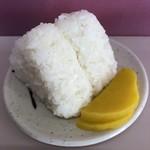 宝来軒 - おむすび一皿100円