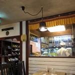 ASIAN KITCHEN KATHMANDU - 店内、奥が厨房