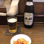 宝華らーめん - 「瓶ビール」570円
