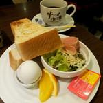 すなば珈琲 - 料理写真:トーストセット540円