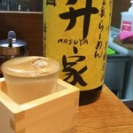 倉敷らーめん 升家 - 日本酒
