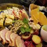 炭火焼とワインの酒場 VOLTA - 前菜10種②