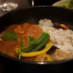 カフェ オフツェ - ご飯は雑穀米でした。