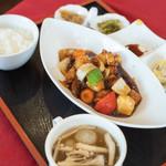 ヌーベルシノワ Ishibashi - 咕嚕肉(すぶたにく)の套餐(ていしよく)