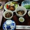 中房温泉 - 料理写真:B食。これに、一人コンロでお肉。