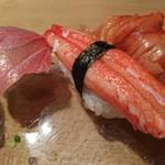 93356750 - ズワイカニ、赤貝