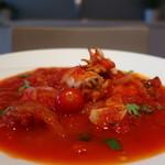 piccolo bar 117 - mini甲イカのシチリア風トマト煮込みアップ