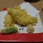 沼津海いち - 穴子の天ぷら