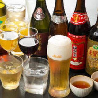 各コースに+2000円で飲み放題コースにご変更頂けます。