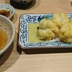 割烹 熊谷 - 鱧天婦羅