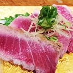 割烹かつらぎ - トロ炙りタタキ 2.500円~
