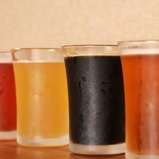 吟醸/純米酒中心に厳選された最高の日本酒やビールが豊富♪