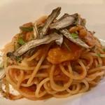 ローザロッチェ - 真蛸とズッキーニのスパゲッティーニ