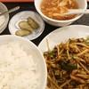 一心飯店 - 料理写真:高菜と豚肉炒め