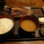 93365072 - ランチ(金華鯖醤油干し定食)
