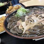 そば処 つる福 - 料理写真:大盛