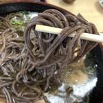 そば処 つる福 - 歯応えの有る太麺