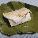 金澤玉寿司 - 氷室 のどぐろ 柿の葉寿司
