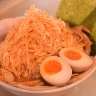 【平日15~18時限定麺】ごっつ専用『超極太麺』で旨さ爆発!