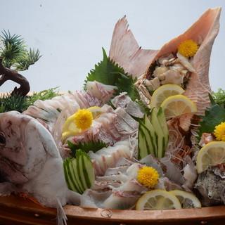 佐世保の新鮮魚介を最良な調理と共に