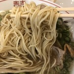 Zen - 麺アップ