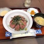 山見茶屋 - あか牛の贅沢とろろ丼1620円