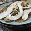 竹松旅館 - 料理写真:松茸馬肉すき焼き
