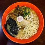 93375909 - 潮ラーメンの麺