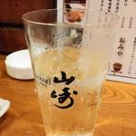牛たん 荒  - 山崎ハイボール680円