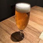 エイジングビーフ - 生ビール