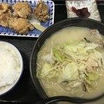 西善 - 料理写真:ちゃんぽん からあげ定食