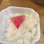 93378860 - お好みで投入する玉葱の微塵切り