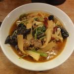 万豚記 - 羊のスパイシースープ麺