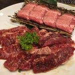 焼肉えん - 料理写真:焼肉Bランチハラミセット増量〜(^.ー^)¥1880円♡