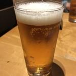 ソバキチ - 生のグラス