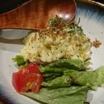 93383339 - インカの目覚めの自家製ポテトサラダ。