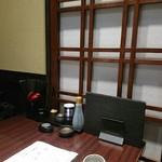 地鶏×鮮魚 個室居酒屋 もみじ庵 - 2人個室。