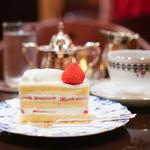 コーヒーバー ブルーマウンテン - ショートケーキ