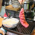 tHe Good MoR~Ning - 黒毛和牛サーロイン「すだれステーキ」