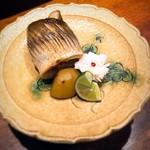 円山町わだつみ - かますの柚庵焼き