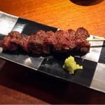 円山町わだつみ - 黒毛和牛イチボ肉の串焼き