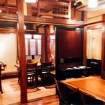 円山町わだつみ - テーブル席