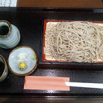 十割蕎麦 安曇野 - せいろ(十割細切り)730円