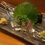 寿司・料理・地酒 はらこ - 料理写真:さんま刺身