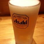 田中そば店 - 生ビール2018.9.23