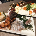 朝採れ鮮魚と個室居酒屋 志喜 - 雲丹出汁海鮮しゃぶしゃぶ4人前全部♡