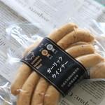 スモークハウス ファイン - 料理写真:ダブル受賞のガーリックウインナー